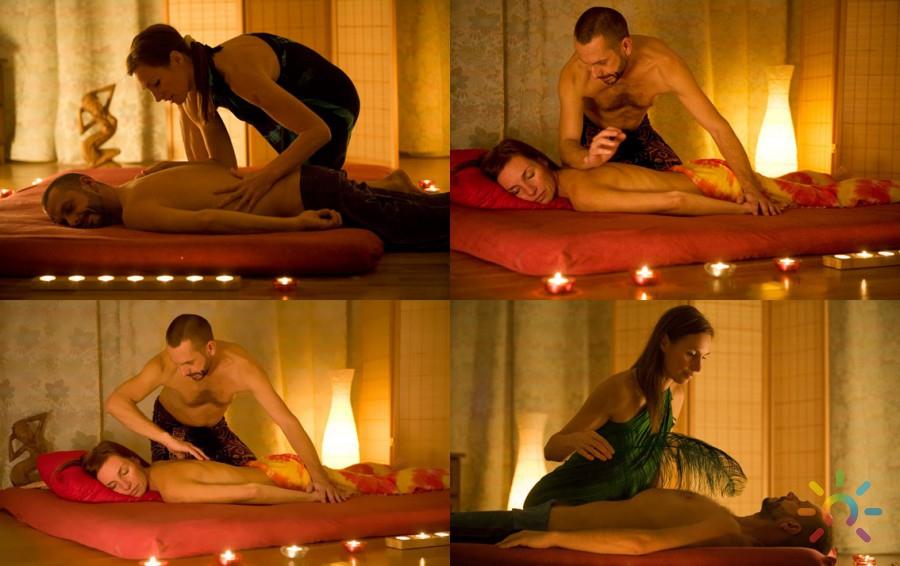 С чего начать эротический масляной массаж?